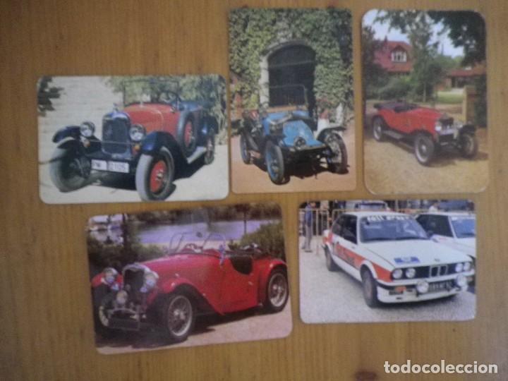 LOTE 5 CALENDARIOS COCHES (Coleccionismo - Calendarios)