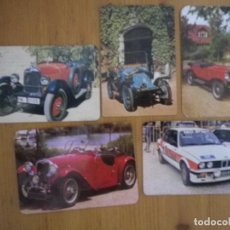 Coleccionismo Calendarios: LOTE 5 CALENDARIOS COCHES . Lote 81206580