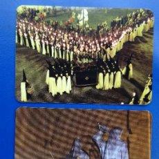 Coleccionismo Calendarios: CALENDARIO BOLSILLO (LOTE DE 2) RELIGIOSO 2005-2009 (SEMANA SANTA ZAMORA) BIEN (FOTO REVERSO). Lote 81662960