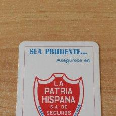 Coleccionismo Calendarios: CALENDARIO FOURNIER LA PATRIA HISPANA AÑO 1974 (VER FOTO ADICIONAL). Lote 83495500