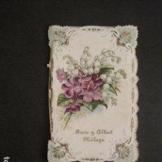 Coleccionismo Calendarios: CALENDARIO ALMANAQUE- ANIS X -RON LA NEGRA- RUIZ Y ALBERT -MALAGA -AÑO 1911 -VER FOTOS -(V-10.691). Lote 84361952