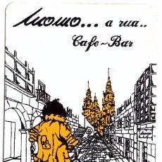 Coleccionismo Calendarios: CALENDARIO DE BOLSILLO AÑO 1995; CAFE-BAR MOMO, SANTIAGO DE COMPOSTELA. Lote 84652400