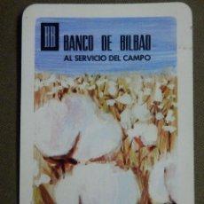 Coleccionismo Calendarios: CALENDARIO DE BOLSILLO - BANCO DE BILBAO - 1968 - H. FOURNIER. Lote 84778212