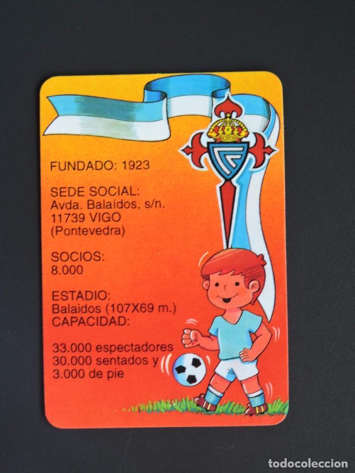 Calendario Celta Vigo.Calendario Bolsillo Futbol Celta De Vigo Serie Gd 184 Ano 1996