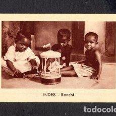 Coleccionismo Calendarios: CALENDARIO DESPLEGABLE 1951. INDIA. RANCHI (VER FOTOS ADICIONALES). Lote 195819248