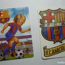 Coleccionismo Calendarios: LOTE CALENDARIOS FUTBOL BARCELONA CF 1986.-1995. Lote 85323064