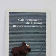 Coleccionismo Calendarios: CALENDARIO PUBLICITARIO BOLSILLO, FOURNIER - BANCO HISPANO AMERICANO, CAJA PERMANENTE... - AÑO 1976. Lote 179217630