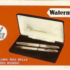 Coleccionismo Calendarios: CALENDARIO FOURNIER - 1970 - WATERMAN. Lote 85843952