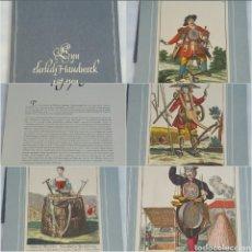 Coleccionismo Calendarios: ANTIGUO CALENDARIO ALEMÁN 1970 LÁMINAS MARTÍN ENGELBRECHT. Lote 86351090