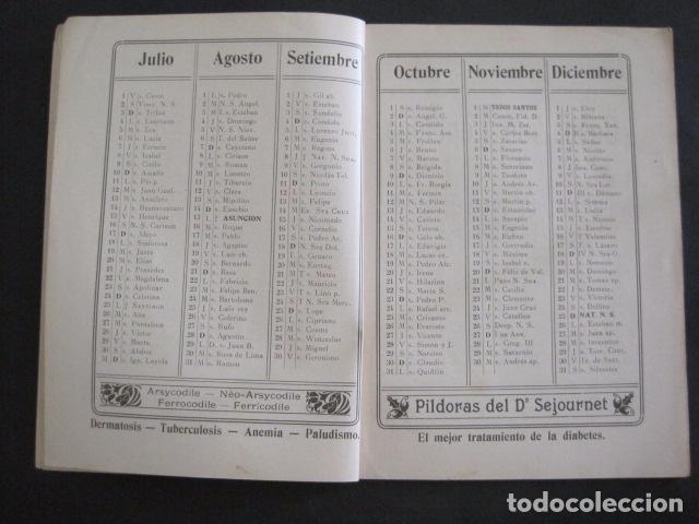 Coleccionismo Calendarios: CALENDARIO - ALMANAQUE 1904 - CATALOGO FARMACIA - MUY BONITO -VER FOTOS-(V-11.071) - Foto 4 - 86742560