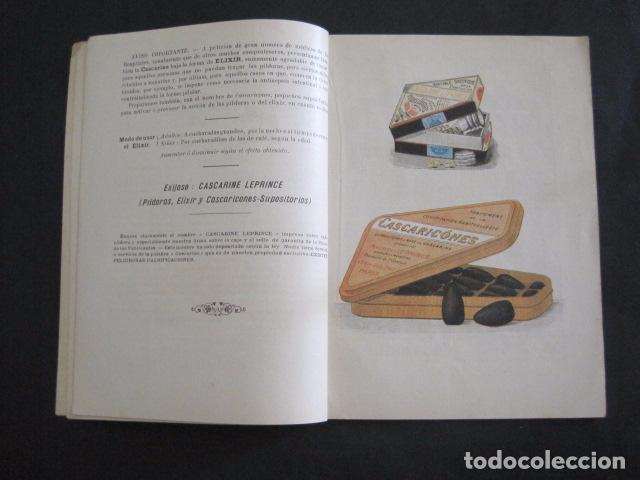 Coleccionismo Calendarios: CALENDARIO - ALMANAQUE 1904 - CATALOGO FARMACIA - MUY BONITO -VER FOTOS-(V-11.071) - Foto 5 - 86742560