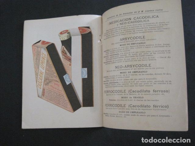 Coleccionismo Calendarios: CALENDARIO - ALMANAQUE 1904 - CATALOGO FARMACIA - MUY BONITO -VER FOTOS-(V-11.071) - Foto 14 - 86742560