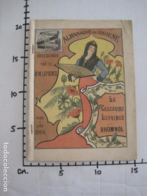 Coleccionismo Calendarios: CALENDARIO - ALMANAQUE 1904 - CATALOGO FARMACIA - MUY BONITO -VER FOTOS-(V-11.071) - Foto 16 - 86742560