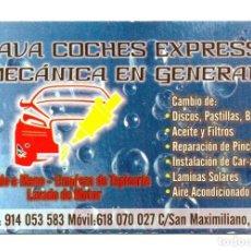 Coleccionismo Calendarios: CALENDARIO PUBLICIDAD 2012 LAVA COCHES EXPRESS. Lote 87401388