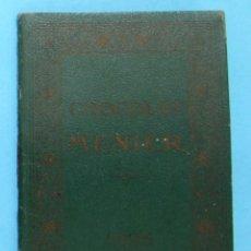 Coleccionismo Calendarios: CALENDARIO PARA 1925. CHOCOLATE, CHOCOLAT MENIER.. Lote 88338840