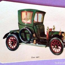 Coleccionismo Calendarios: CALENDARIO - COCHES ANTIGUOS - 1969 - UNIC 1910 - CON PUBLICIDAD (VER FOTO ADICIONAL). Lote 89206212