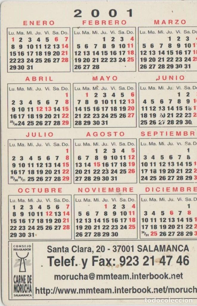 Calendario 2001.Calendarios Calendario 2001 Sold Through Direct Sale 89431564