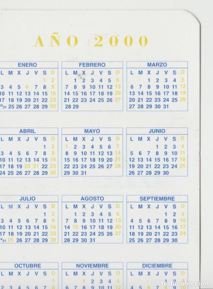Calendario Del 2000.Calendarios Calendario Ano 2000