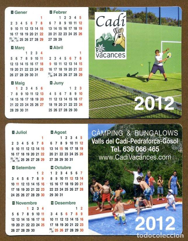CALENDARIOS BOLSILLO - CADI 2012 (Coleccionismo - Calendarios)