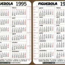 Coleccionismo Calendarios: CALENDARIOS BOLSILLO - VIA ANUAL 1995 - 1996 FIGUEROLA SABADELL . Lote 89513604