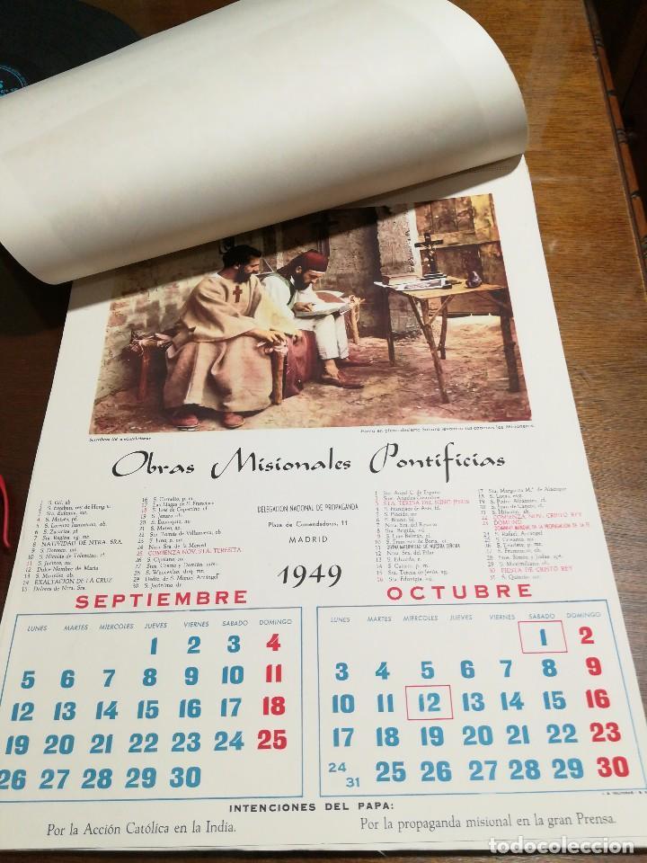 Calendario 1949.Calendario 1949