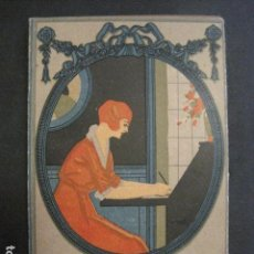 Coleccionismo Calendarios: CALENDARIO ALMANAQUE 1922 -BAZAR DE LOS ANDALUCES - BARCELONA - VER FOTOS-(V-11.645). Lote 89864384