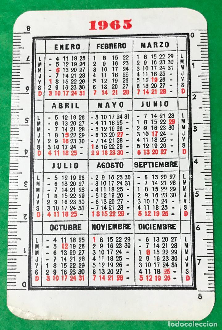 Calendario Del Ano 1965.Calendario Ano 1965 Ferrocarril Santander Mediterraneo Camara De Comercio De Santander