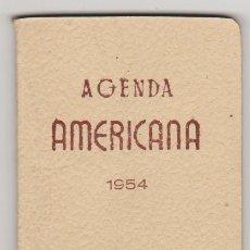 Coleccionismo Calendarios: AGENDA MYRGA (10X8,5) PARA 1954. SIN USAR.. Lote 91186400