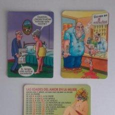 Coleccionismo Calendarios: LOTE 11 - CALENDARIOS DE CHISTES Y HUMOR. Lote 91369570