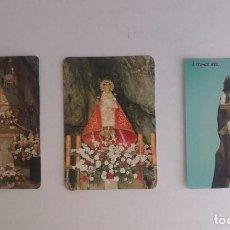 Coleccionismo Calendarios: LOTE 25 - CALENDARIOS DE ESTAMPITAS RELIGIOSAS. Lote 91394310