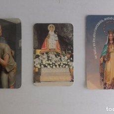 Coleccionismo Calendarios: LOTE 27 - CALENDARIOS DE ESTAMPITAS RELIGIOSAS. Lote 91394405
