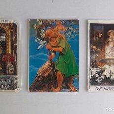 Coleccionismo Calendarios: LOTE 28 - CALENDARIOS DE ESTAMPITAS RELIGIOSAS. Lote 91394435