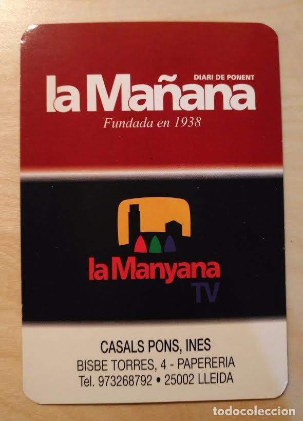 CA 44 CALENDARIO 2006 - LA MAÑANA, DIARI DE PONENT - LA MANYANA TV (Coleccionismo - Calendarios)