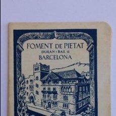 Coleccionismo Calendarios: CALENDARIO DE FOMENT DE PIETAT ,BARCELONA 1961 DE 30 PAGINAS ,APOSTOLADO DE LA ORACION. Lote 91762720