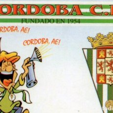 Coleccionismo Calendarios: CALENDARIO DE FUTBOL NO DE SERIE AÑO 2004 CORDOBA C.F.. Lote 92990355