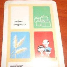 Coleccionismo Calendarios: CALENDARIO FOURNIER SEGUROS GENERALES PLUS ULTRA, 1967. Lote 93149600