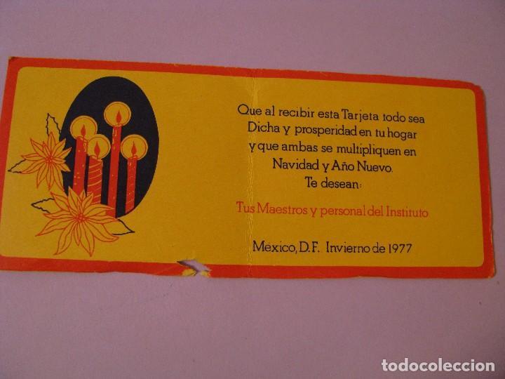 Calendario 1978 Mexico.Tarjeta Calendario 1978 Instituto Pro Educacion De Latinoamerica De Superacion Mexico
