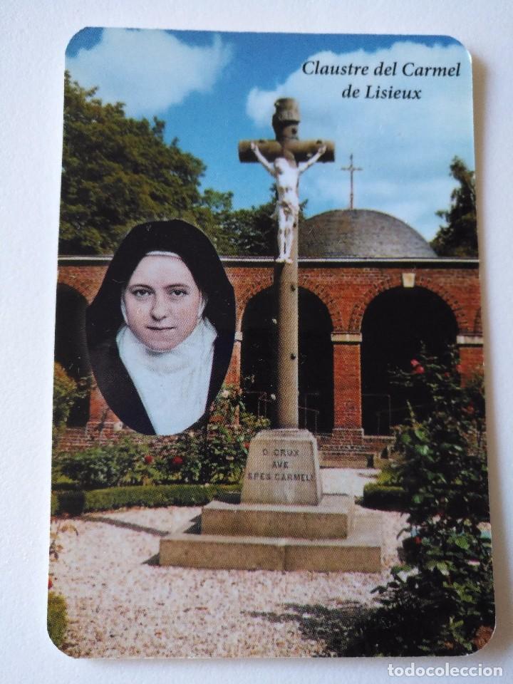 CA 49 CALENDARIO CLAUSTRE DEL CARMEL DE LISIEUX - SANTUARI SANTA TERESINA - 2014 - LLEIDA (Coleccionismo - Calendarios)