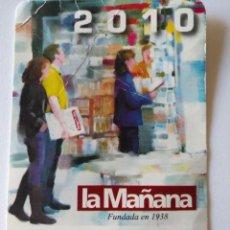 Coleccionismo Calendarios: CA 50 CALENDARIO 2010 LA MAÑANA - PAULS TORREGUITART, MARTA - LLEIDA. Lote 93800665