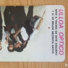 Coleccionismo Calendarios: ULLOA OPTICO 1985. Lote 94559132