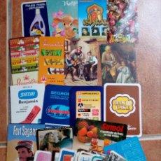 Coleccionismo Calendarios: LOTE DE 50 CALENDÁRIOS DE BOLSILLO. Lote 94603647