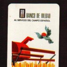 Coleccionismo Calendarios: ESCASO CALENDARIO FOURNIER AÑO 1966 EL DE LAS FOTOS BANCO DE BILBAO. Lote 95189515