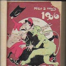 Coleccionismo Calendarios: 2 ALMANACH DE LA CAMPANA DE GRACIA. 1906 I 1907. 15X10CM. 192 + 192 P.. Lote 95285271