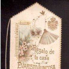 Coleccionismo Calendarios: CALENDARIO DE CHOCOLATES JUNCOSA 1897 NUEVO COMPLETAMENTE . Lote 95304971