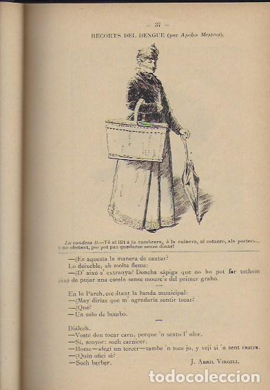 Coleccionismo Calendarios: 2 Almanach de l' Esquella de La Torratxa 1891 i 1892. 20x14cm. 190 + 192 p. - Foto 5 - 95374371