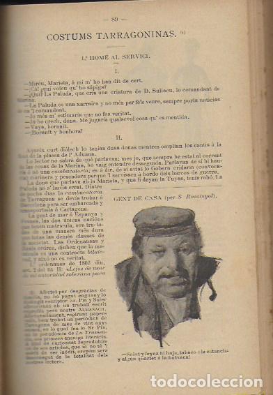 Coleccionismo Calendarios: 2 Almanach de l' Esquella de La Torratxa 1891 i 1892. 20x14cm. 190 + 192 p. - Foto 6 - 95374371