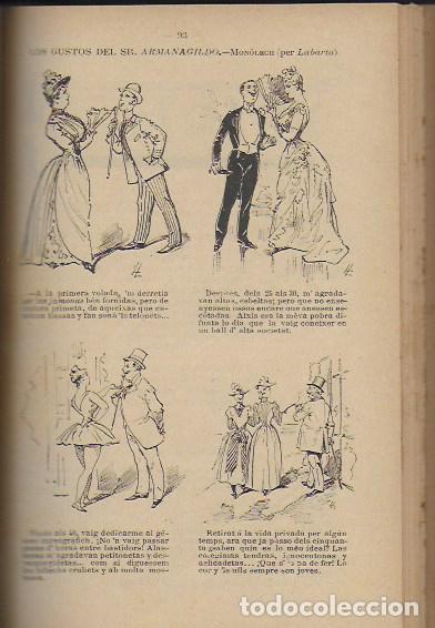 Coleccionismo Calendarios: 2 Almanach de l' Esquella de La Torratxa 1891 i 1892. 20x14cm. 190 + 192 p. - Foto 7 - 95374371