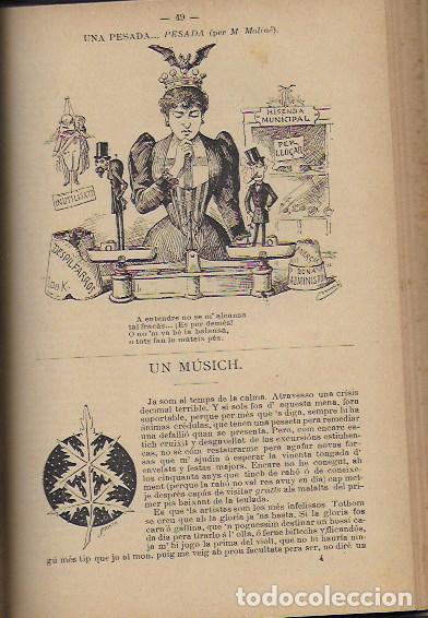 Coleccionismo Calendarios: 2 Almanach de l' Esquella de La Torratxa 1891 i 1892. 20x14cm. 190 + 192 p. - Foto 11 - 95374371