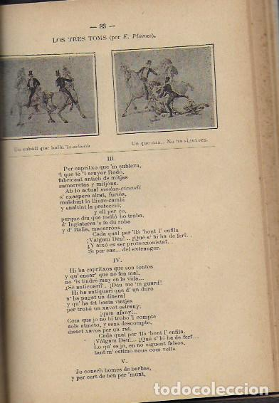 Coleccionismo Calendarios: 2 Almanach de l' Esquella de La Torratxa 1891 i 1892. 20x14cm. 190 + 192 p. - Foto 13 - 95374371