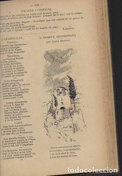 Coleccionismo Calendarios: 2 Almanach de l' Esquella de La Torratxa 1891 i 1892. 20x14cm. 190 + 192 p. - Foto 14 - 95374371